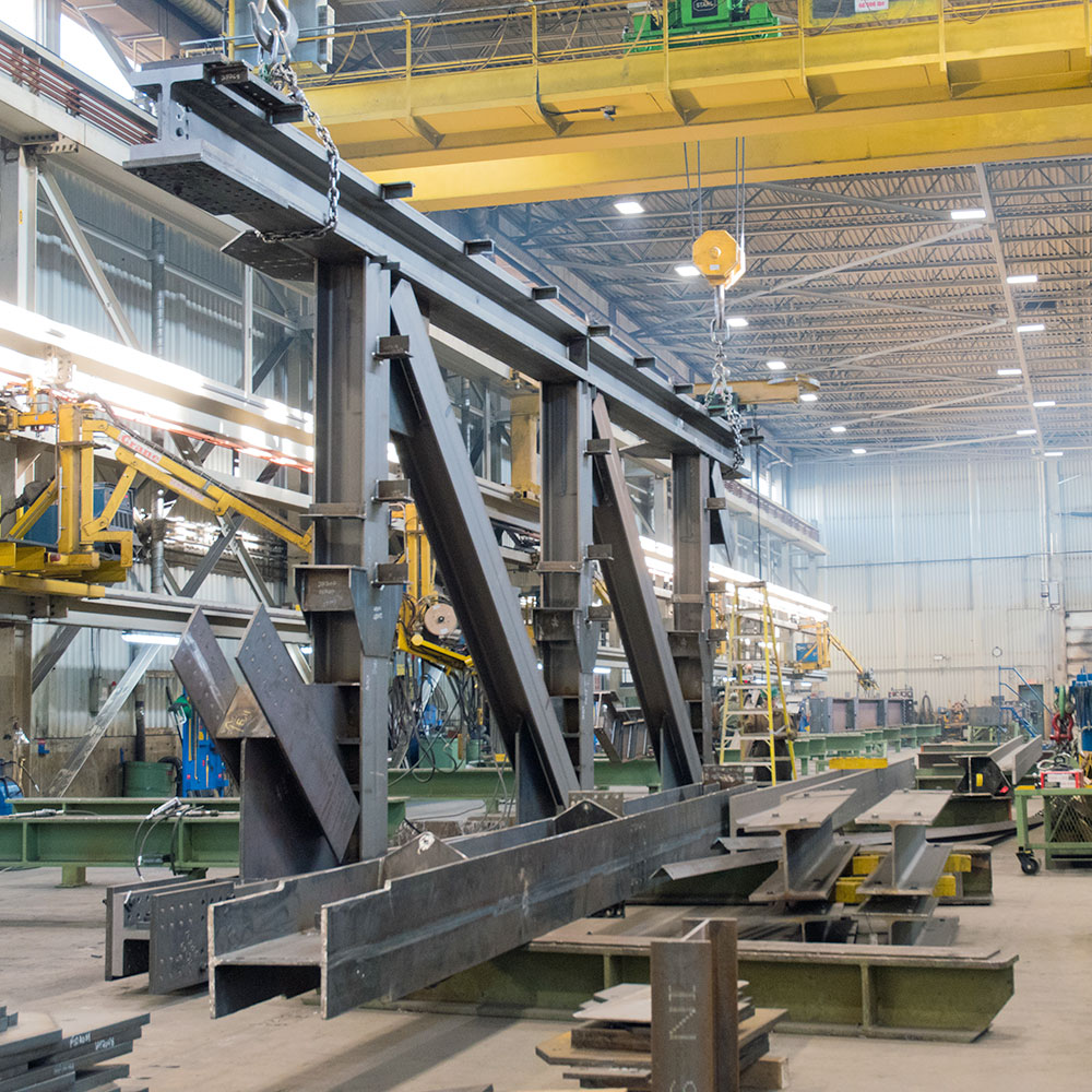 Complex girders Fabrication